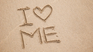 i_heart_me in the sand